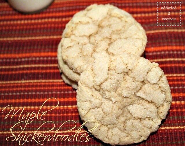 Maple Snickerdoodles | MAPLE! Oh Sweet Nectar...! | Pinterest