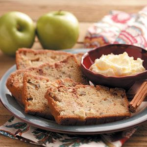 Dutch Apple Loaf Recipe from Taste of Home