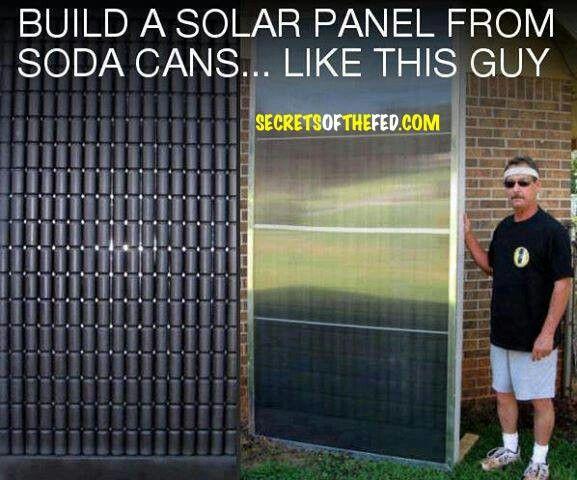 Build your own solar panel. | Energy | Pinterest