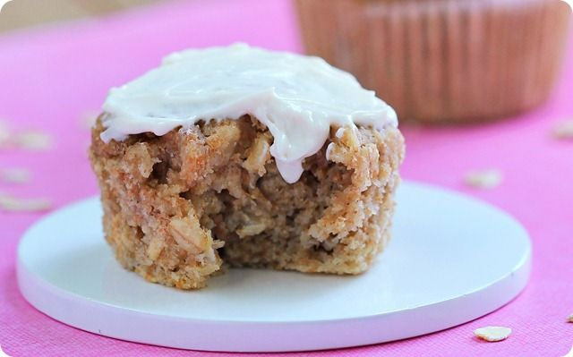 ... ! Oatmeal Muffins @Chocolate-Covered Katie #Recipes #Oatmeal #Muffins