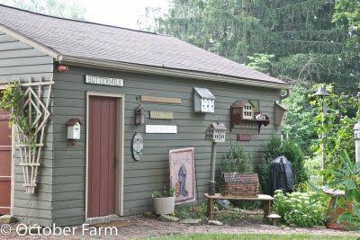 paint shed outside pinterest. Black Bedroom Furniture Sets. Home Design Ideas
