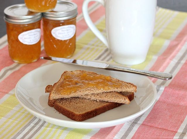 bourbon peach jam and canning instructions | APPLE A DAY Who says you ...