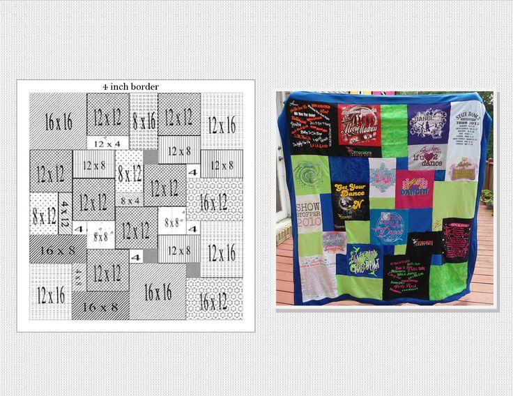 T Shirt Quilt Pattern Printable Joy Studio Design