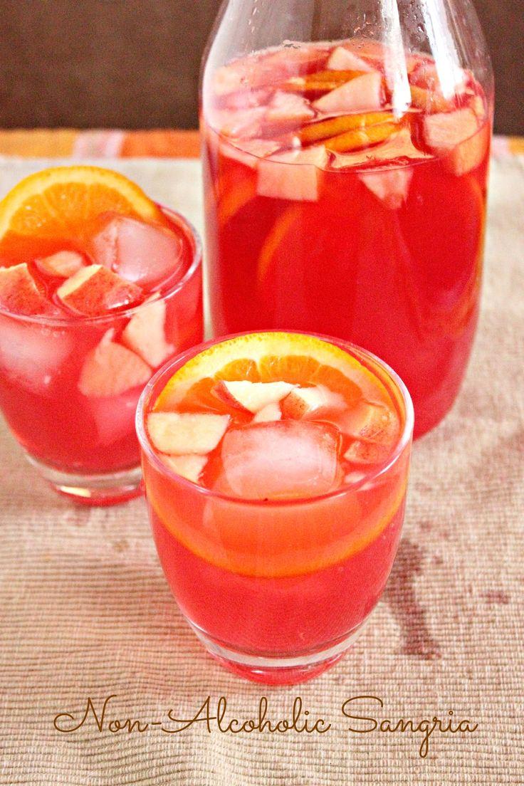 Non-Alcoholic Sangria | Recipe