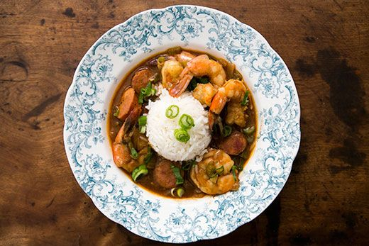 ... in-law's--Shrimp Gumbo with Andouille Sausage Recipe   Simply Recipes