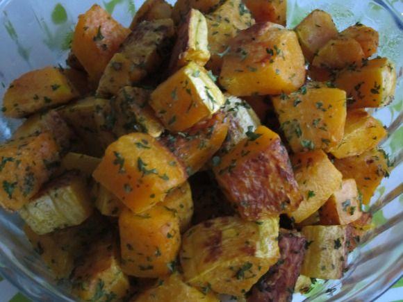 Roasted garlic butternut squash | yum. | Pinterest