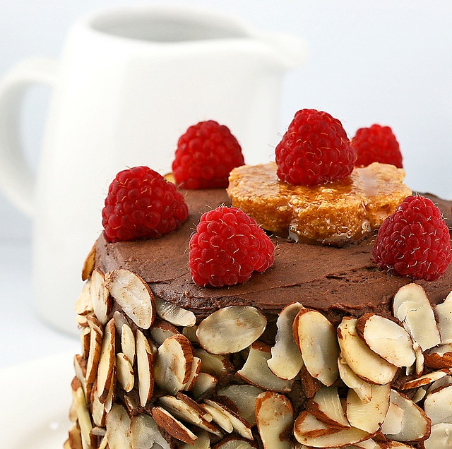 Raspberry And Vanilla Dobos Torte Recipes — Dishmaps