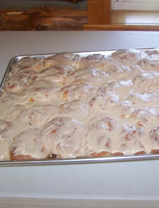 Amish Pumpkin Cinnamon Rolls With Caramel Icing Recipes — Dishmaps