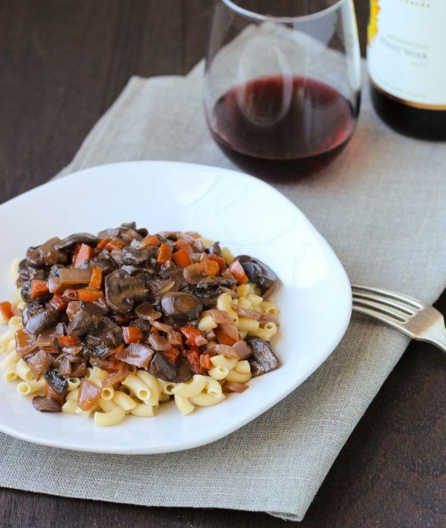 Mushroom Bourguignon | Recipes to try | Pinterest