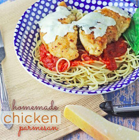 Homemade Chicken Parmigiana Recipe — Dishmaps
