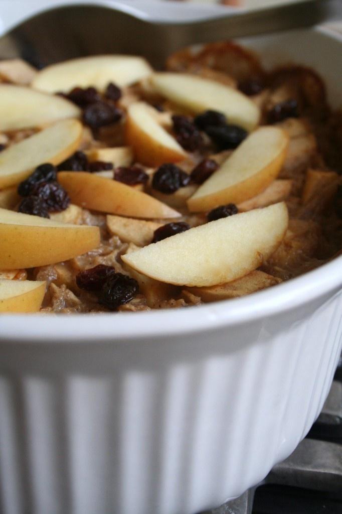 Apple Cinnamon Baked Oatmeal   Entrees   Pinterest