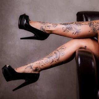 beautiful leg tattoo beautiful art tidbits pinterest. Black Bedroom Furniture Sets. Home Design Ideas