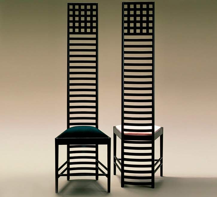 charles renee mackintosh 39 s chairs golf research pinterest. Black Bedroom Furniture Sets. Home Design Ideas