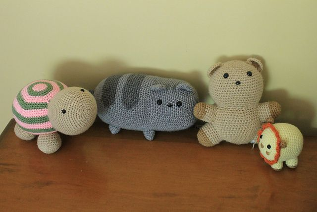 Pusheen Amigurumi Free Pattern : Crochet Cat Crochet Dolls, Animals, & Amigurumi Pinterest