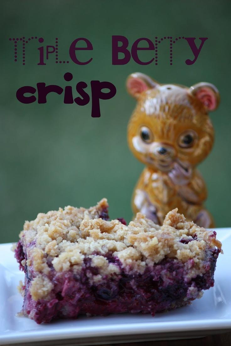 Fruit Crisp. An easy crisp to make! | Kitchen: Sweets | Pinterest
