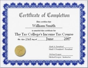 Free Online Income Tax Course Learn Something New