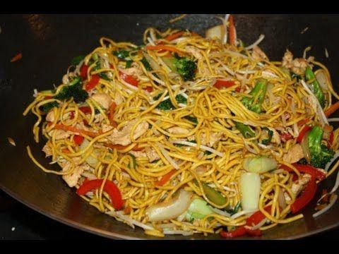 Chicken Lo Mein | Oh So Yummy | Pinterest