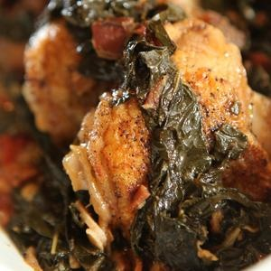 Pilsner-Braised Chicken and Kale | Recipes I Want to Try | Pinterest
