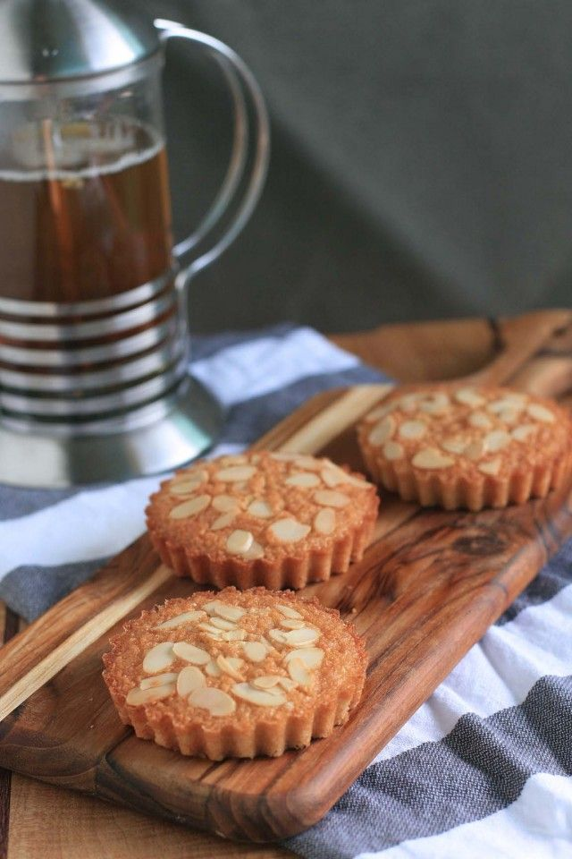 Brown Butter Almond Financiers | Nuts | Pinterest