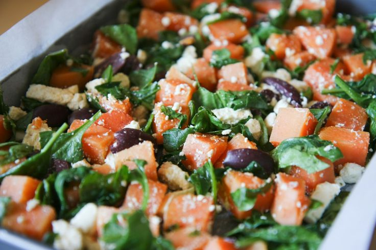 Sweet Potato & Feta Baked Frittata | Recipes | Pinterest