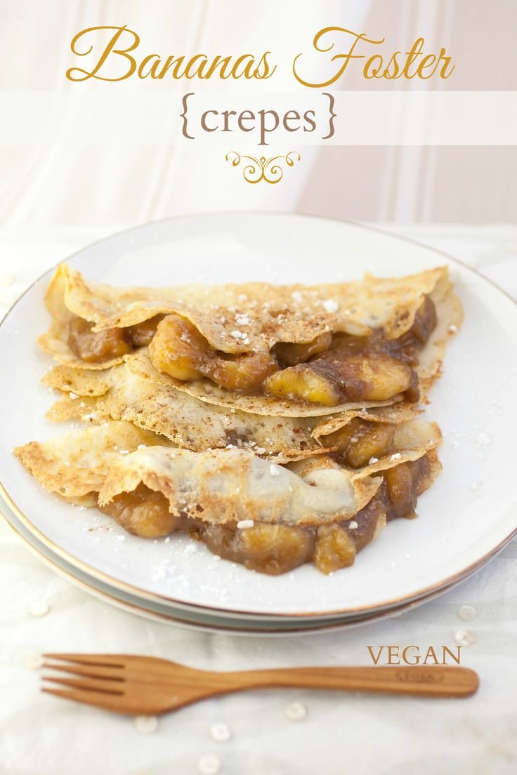 Produce On Parade - Bananas Foster Crepes