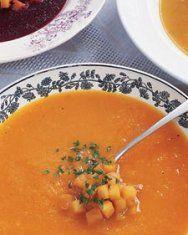 Acorn Squash Soup with Kale | Recipe