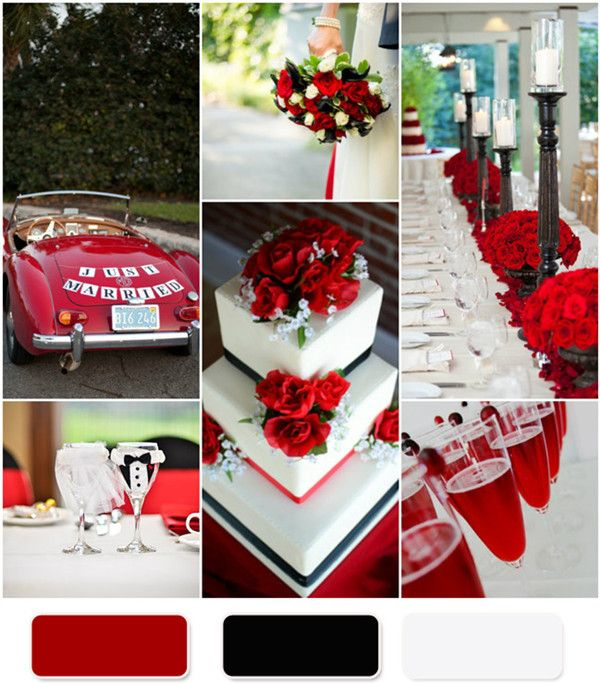 Red Rose Wedding Theme