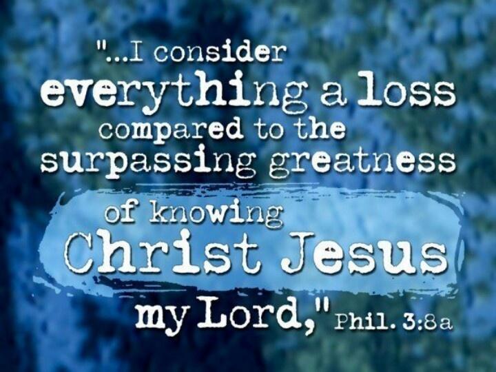 Philippians 3 8 Thank You Father Pinterest