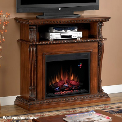 Classicflame Corinth Wall Or Corner Electric Fireplace Media Center I