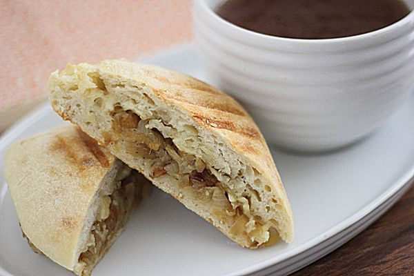 French Onion Soup Sandwiches- plus 99 other Vegetarian sandwiches