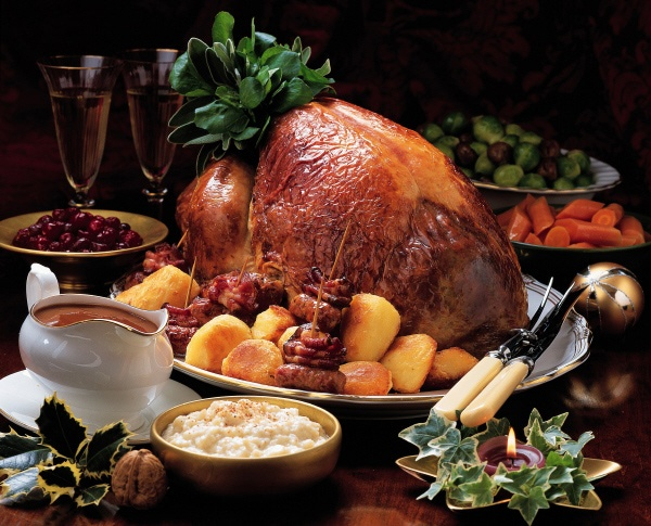 Christmas turkey with all the trimmings autumn pinterest for Thanksgiving dinner with all the trimmings