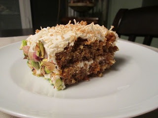 The Starving Student: Pistachio Coconut Carrot Cake so pretty should ...