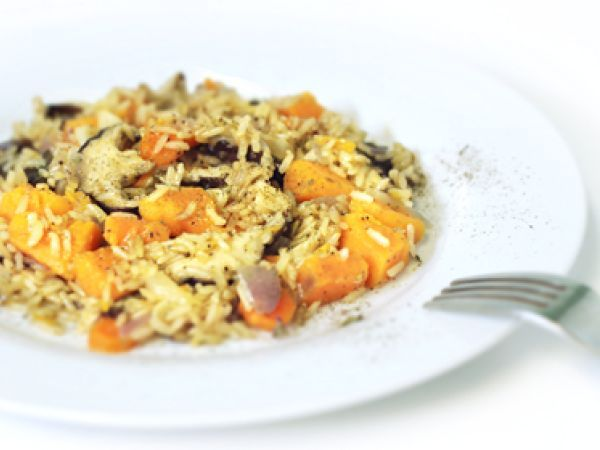 Recipe Yams and shiitake mushrooms with brown rice by Gabrielaoel ...