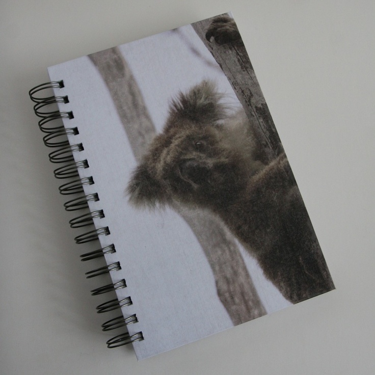 Koala Bear Blank Journal by GargoyleLogbooks on Etsy
