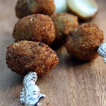 Cheese Stuffed Fried Olives | Recipes | Pinterest