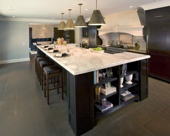 Bar Height Island Design Kitchens Pinterest