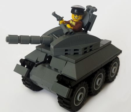 Bricks: Light Tank, by Poor Raisins