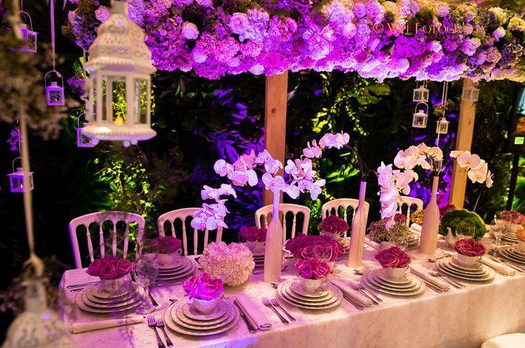 Mesa imperial para decoraci n de bodas en tem tica vintage for Decoracion de pared para quinceanera