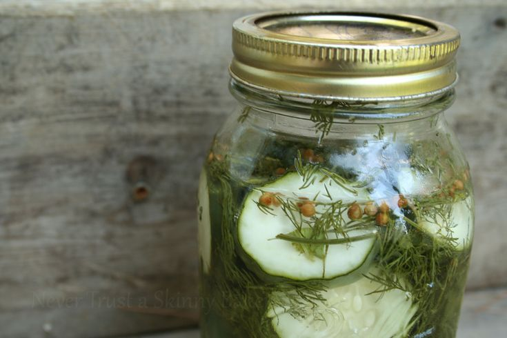 Refrigerator Pickles | Appetizers | Pinterest