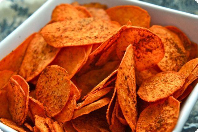 Baked BBQ sweet potato chips | Yep, I'm Making It---Naturally! | Pint ...
