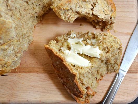 brown butter soda bread | Bread | Pinterest