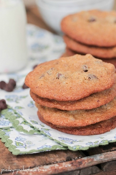 Malted Milk Chocolate Chip Cookies Recipe — Dishmaps