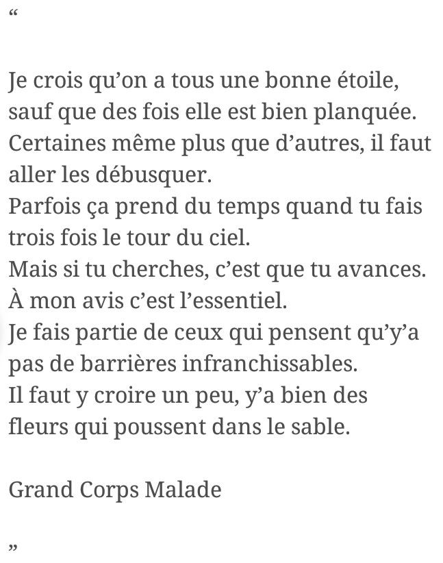 Grand corps malade rencontres english translation