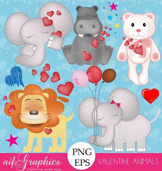 heart elephant valentine
