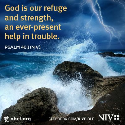 god is an ever present help in trouble A very present help in trouble therefore we will not fear, even though the earth be removed, and though the mountains be carried into the midst of the sea though its waters roar and be troubled, though the mountains shake with its swelling selah a god is our refuge and strength: many of the others psalms begin with a.