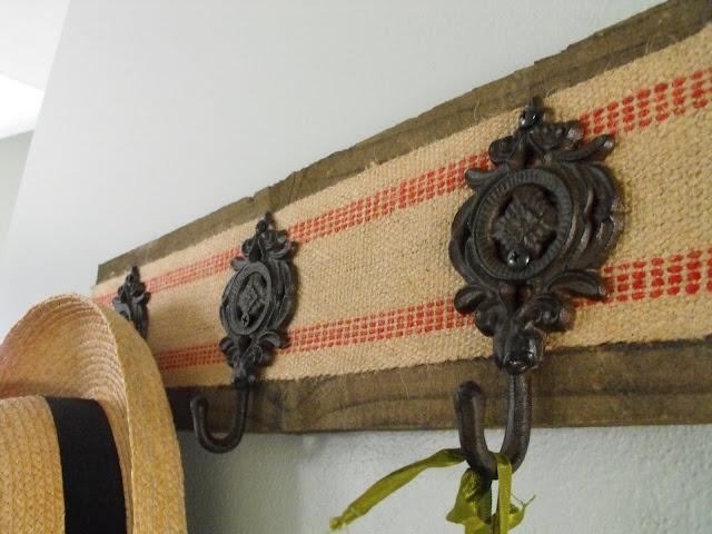 Susie Harris: DIY Jute Ribbon Coat Rack | DIY | Pinterest