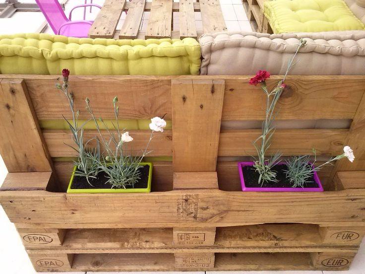 Salon de jardin en palettes  Déco maison  Pinterest