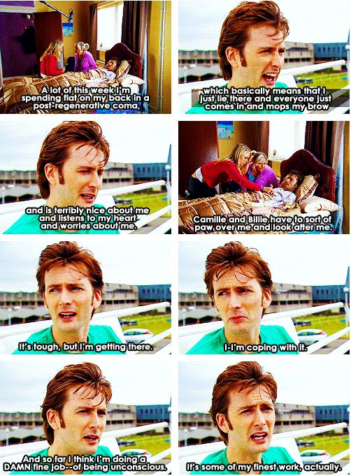 One of my favorite behind-the-scenes scenes from Doctor Who. - My love for David knows no bounds.