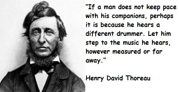 henry david thoreaus essay July 12, 2017, marks the 200th birthday of henry david thoreau, the foundational figure in american nature writing and a thinker whose political explorations.