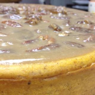 Pumpkin Maple Pecan Cheesecake | Cheesecakes!! | Pinterest